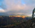 Waimea Canyon sunset rainbow