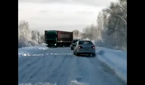 Audi's do not stop just because of a little snow