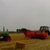 German hay baler