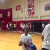High School Kid Does Impressive Slam Dunk