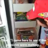 They are cute the world over! Young boy talks dad into popsicle for breakfast