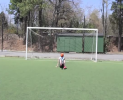 Indi Cowie Demostrating Soccer Freestyle
