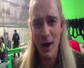 Orlando Bloom sings with Legolas : They're taking the hobbits to Isengard