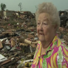 Woman Survives Tornado and Finds Her Dog While Being Interviewed